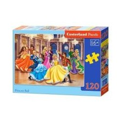 Puzzle 120 Princess Ball CASTOR