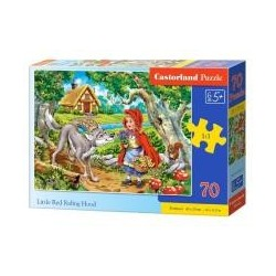 Puzzle 70 Little Red Riding Hood CASTOR