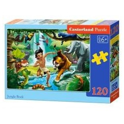 Puzzle 120 Jungle Book CASTOR