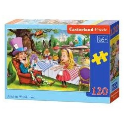 Puzzle 120 Alice in Wonderland CASTOR