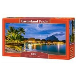 Puzzle 600 French Polynesia CASTOR
