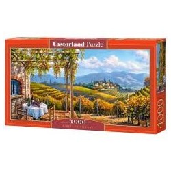 Puzzle 4000 Vineyard Village CASTOR