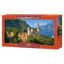 Puzzle 600 View of the Neuschwanstein Castle CASTO
