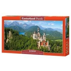 Puzzle 4000 Germany - Neuschwanstein Castle CASTOR