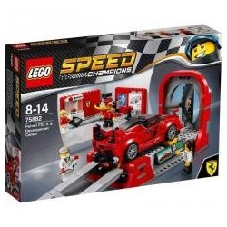 Lego SPEED CHAMPIONS 75882 Ferrari i centrum tech.