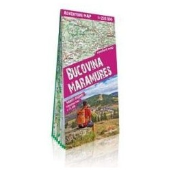 Adventure map Bukowina i Maramuresz 1:250 000