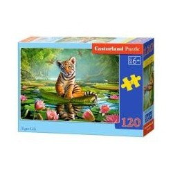Puzzle 120 Tiger Lily CASTOR